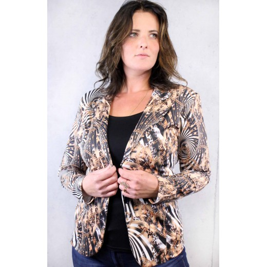 Blazer 1165 print animal Angelle Milan